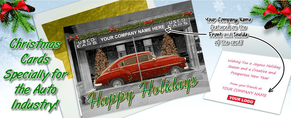 Christmas Cards for The Auto Industry