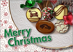Auto Body Christmas Candy Card