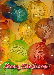 Auto Body Glass Ornaments