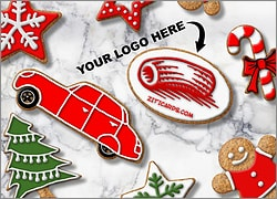 Automotive Logo Cookies